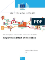 Employment Effect of Innovation