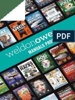 Weldon Owen Manuals Program 2016