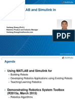 Using Matlab and Simulink for Robotics