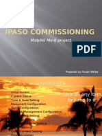 IPASO Commissioning