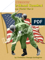 Authentic (Airborne) Hand-To-Hand Combat and From World War II - George Arrington 2010