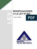 Ley 843 Modif