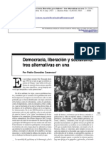 Casanova- Democracia Liberacion y Socialismo