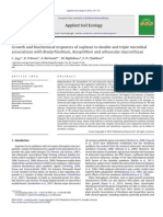 Growth and Biochemical Responses of Soybean to Double and Triple Microbial