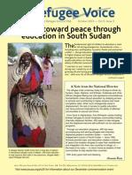 Working toward peace through education in South Sudan