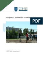 Programa Aniversario Medicina 2015
