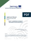 Part 7 DTP Applicants Manual Overview on Project Implementation Principles