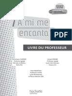 A Mi Me Encanta 2de - Espagnol - Livre de l'Élève - Edition 2009