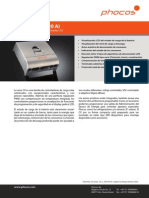 Ficha Tecnica Controlador Carga PHOCOS Serie CX ES