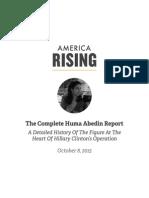 The Complete Huma Abedin Report