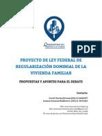 2015 - 10 - octubre - 07 - Propuestas para el debate- Proyecto de ley de regularización dominial