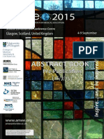 AMEE 2015 Abstract Book Pre Publication July 2015