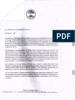 DIPLOMATIC NOTES - BELIZE AND GUATEMALA