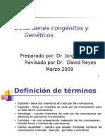 Clase 7 Desórdenes Genéticos y Metabólicos
