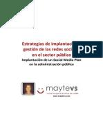 Implantacion Social Media Plan en Administraciones Públicas Mayte Vañó