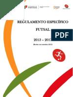 re futsal 13 17 revisto em setembro 2015