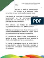 22 12 2010- Brindis Navideño con Periodistas