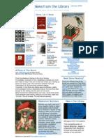 Newsletter Jan 2009