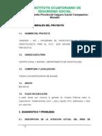 Proyecto Capacitacion Odontologos Reformado Dr Patricio Cevallos