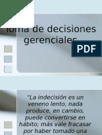 TOMA DE DECISIONES GERENCIALES.ppt