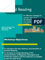 for young learners-Guided Reading Pow.point