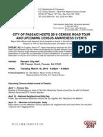 Census ADVISORY Passaic City Hall March 16 2010