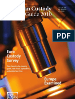 European Custody Market Guide 2010