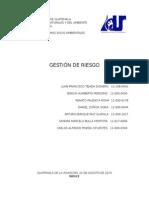 Gestion de riesgo en Guatemala