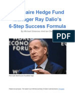 Ray Dalio 6 Step Success Formula