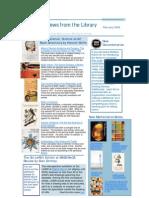 Newsletter February 2009