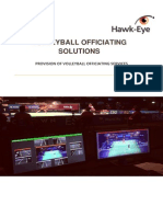 Volleyball Officiating Solution Hawk-eye