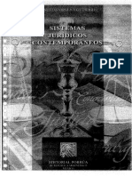 Consuelo Sirvent; Sistemas Jurídicos Contemporáneos