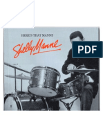 Shelly Manne - Liner Notes for Box Set