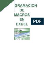 Programacion de Macros en Excel