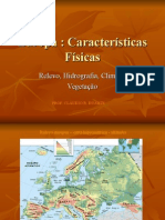 Europa - Geografia Física - Powerpoint