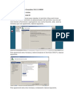 Manual para crear un servidor DHCP