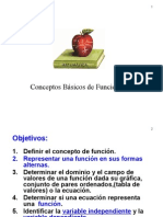 Conceptos Básicos de Funciones