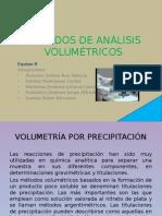 Métodos de volumetría por precipitación-