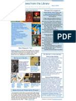 Newsletter March 2009