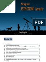 Mengenal Astronomi Amatir