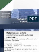 Exposición Organización General