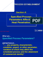 3-A. Specified Process Parameters