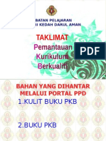 TAKLIMAT PKB