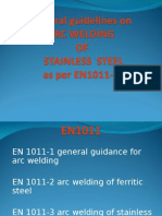 BS EN 1011-3-2000 - Recommendations for   Arc welding of stainless steels.pdf (2).ppt