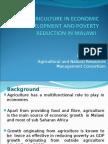 Agriculture in Economic Development