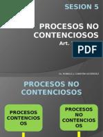SESION 4 - PROCESOS NO CONTENCIOSOS.pptx