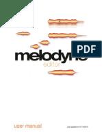 Melodyne Manual