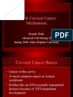 9 HPV and Cervical Mechanisms Johns Hopkins B Wells