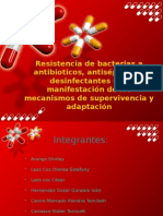 Bacterias a Antibioticos