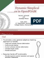 DynamicTetRemeshing OFW6 Presentation